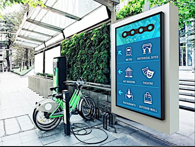 smartcity outdoor signage